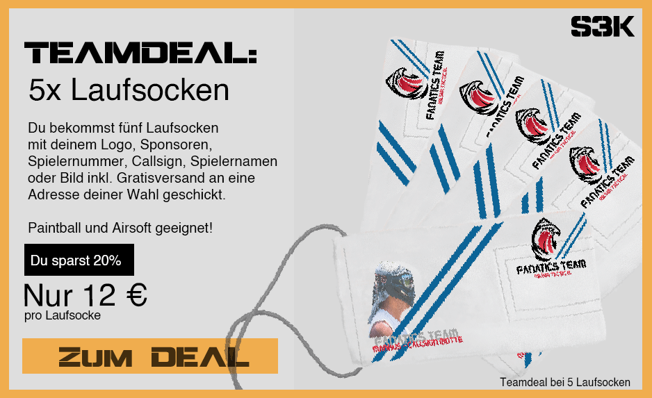 Teamdeal Airsoft Laufsocke