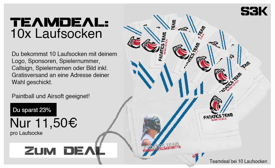 Teamdeal Paintball Laufsocke